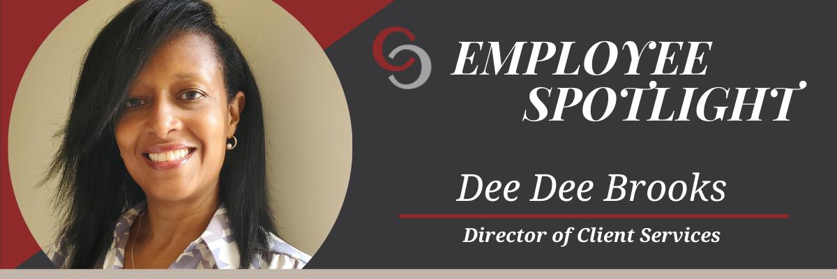 Dee Dee Brooks Employee Spotlight Header