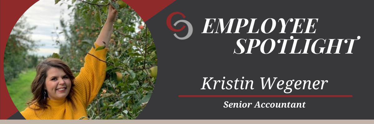 Kristin Wegener Employee Spotlight Header