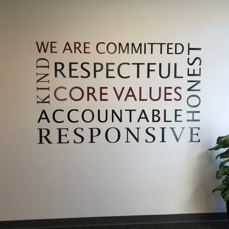 Core Values for Careers Page